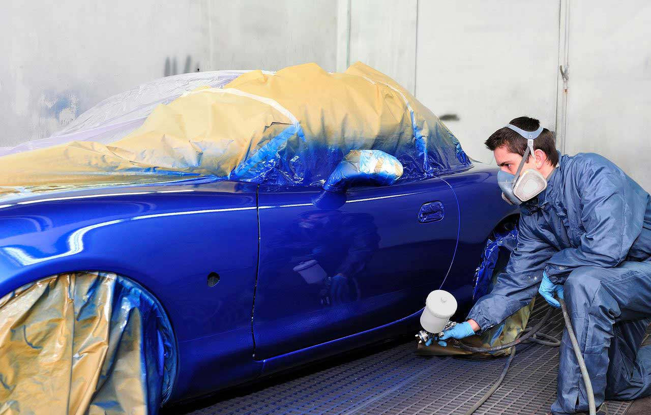 car painting payette ontario scratch repair